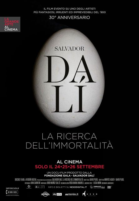 SALVADOR DALÍ. LA RICERCA DELL'IMMORTALITÀ - LA GRANDE ARTE AL CINEMA 2018/2019